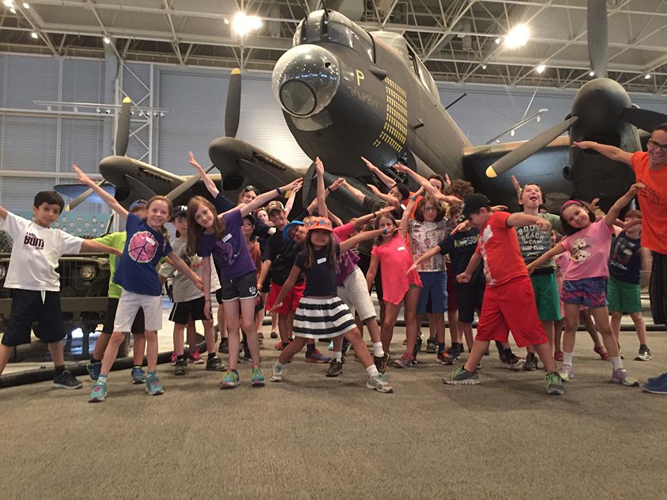 Camp de jour musical Sonart au Musée de l'aviation et de l'espace du Canada – Ottawa Outaouais